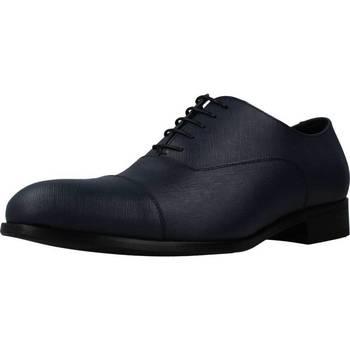 Schuhe Herren Richelieu Angel Infantes 50853 Blau