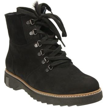 Schuhe Damen Boots Waldläufer Stiefeletten Hitomi schwarz