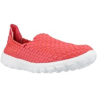 Schuhe Damen Slip on Chika 10 CHESTER Rot