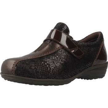 Schuhe Damen Slipper Pinosos 7313 G Brown