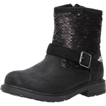 Schuhe Mädchen Boots Lulu 65611 Schwarz