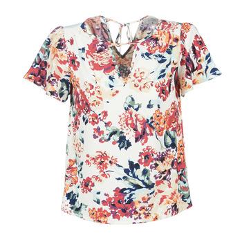Kleidung Damen Tops / Blusen Casual Attitude LAURIANA Weiss / Multifarben