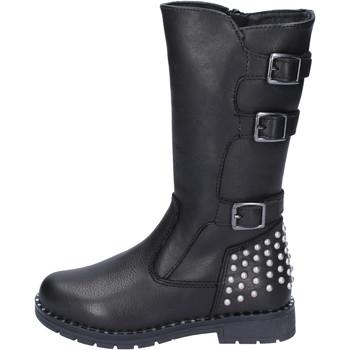 Schuhe Mädchen Klassische Stiefel Didiblu stiefel leder schwarz
