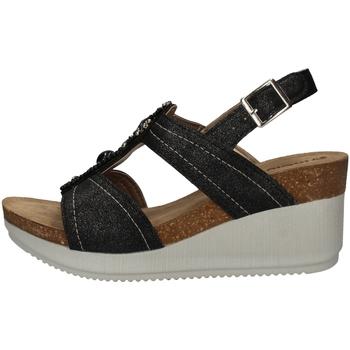 Schuhe Damen Sandalen / Sandaletten Inblu EN 14 BLACK