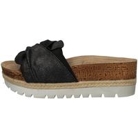Schuhe Damen Pantoletten Inblu NK 11 BLACK