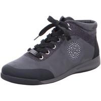Schuhe Damen Boots Ara Schnuerschuhe ROM 12-44457-05 05 schwarz