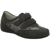 Schuhe Damen Sneaker Low Waldläufer Slipper DENVER KOBRA DENVER 813307-306/052 grau