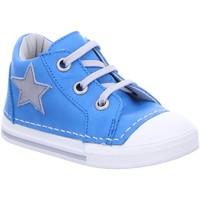Schuhe Jungen Babyschuhe Däumling Schnuerschuhe Lauflern lagoun 100251M44 blau