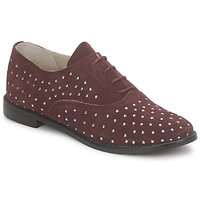 Schuhe Damen Richelieu Meline DERMION BIS Bordeaux