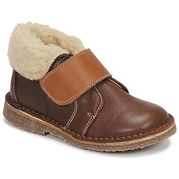 Schuhe Jungen Boots André FLO Braun