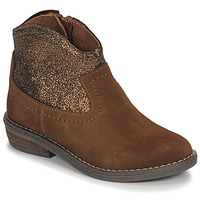 Schuhe Mädchen Boots André DOLLY Camel