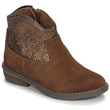 Schuhe Mädchen Boots André DOLLY Camel