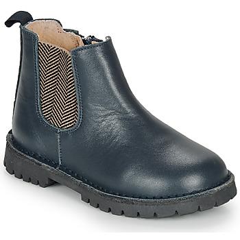 Schuhe Jungen Boots André XAVIER Marine