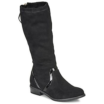 Schuhe Mädchen Klassische Stiefel André ALEXINE Schwarz