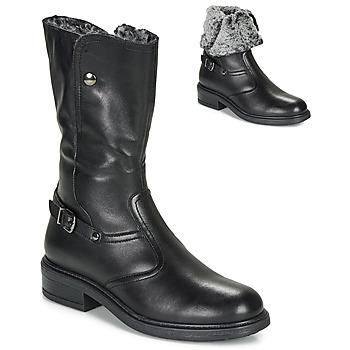 Schuhe Mädchen Klassische Stiefel André MOSCOU Schwarz