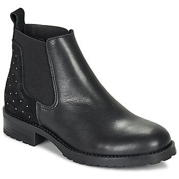 Schuhe Mädchen Boots André SIXTINE Schwarz