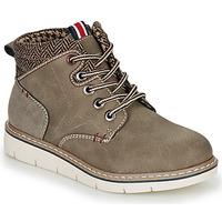 Schuhe Jungen Boots André GIL Kaki