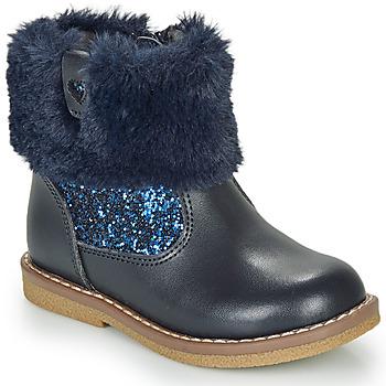 Schuhe Mädchen Boots André ADELA Marine