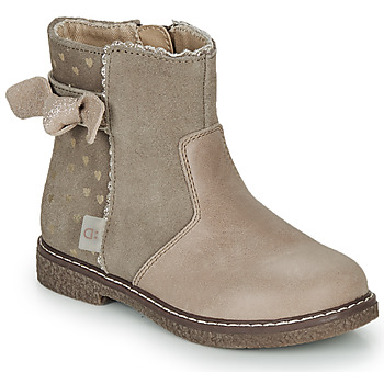 Schuhe Mädchen Boots André MYA Beige
