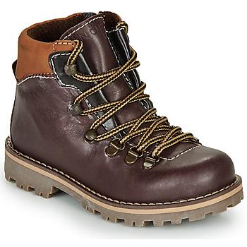 Schuhe Jungen Boots André REMY Braun