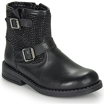 Schuhe Mädchen Boots André CYDRINE Schwarz