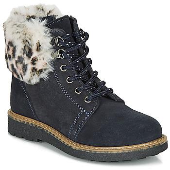 Schuhe Mädchen Boots André CHATAL Marine