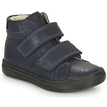 Schuhe Jungen Sneaker High André EDGAR Marine