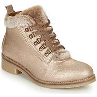 Schuhe Damen Boots André BRISE Beige