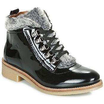 Schuhe Damen Boots André BRISE Schwarz