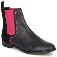 Schuhe Damen Boots Moschino Cheap & CHIC CA2112 Schwarz / Rose