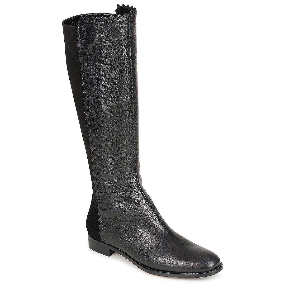 Moschino Cheap & CHIC CA2612 Schwarz - Kostenloser Versand bei Spartoode ! - Schuhe Klassische Stiefel Damen 324,50 €
