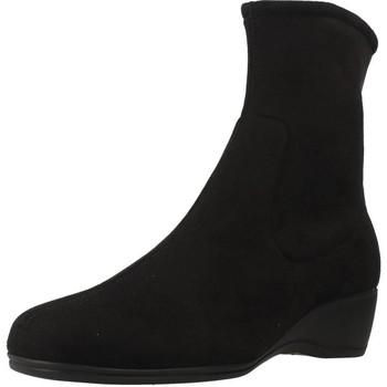 Schuhe Damen Klassische Stiefel Pinosos 34631 Schwarz