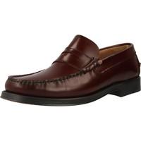 Schuhe Herren Slipper Privata M2500 Rot