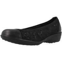Schuhe Damen Ballerinas Pinosos 6842 Schwarz