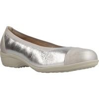 Schuhe Damen Ballerinas Pinosos 6842 M Silber