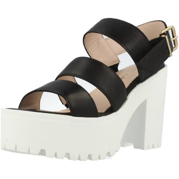 Schuhe Damen Sandalen / Sandaletten Alpe 1822 15 Schwarz