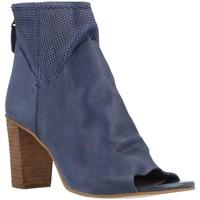 Schuhe Damen Low Boots Elvio Zanon B2511X Blau