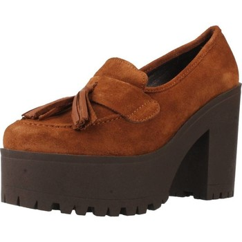 Schuhe Damen Pumps Alpe 3204 11 Brown