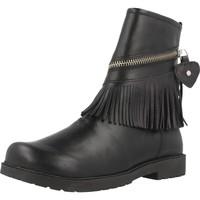 Schuhe Mädchen Boots Chicco CLAY Schwarz