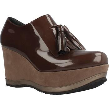 Schuhe Damen Slipper Bruglia 6075 Brown