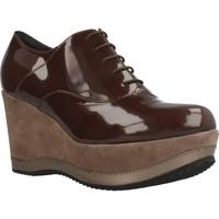 Schuhe Damen Richelieu Bruglia 6076 Brown