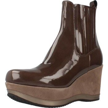 Schuhe Damen Low Boots Bruglia 6078 Brown