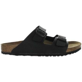 Schuhe Herren Pantoffel Birkenstock Arizona Schwarz, Braun