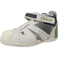 Schuhe Jungen Derby-Schuhe & Richelieu Chicco 68405 Weiß