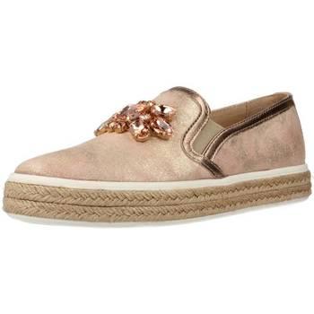 Schuhe Damen Slip on Alpe 3263 13 21 Rosa