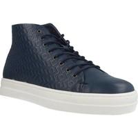 Schuhe Damen Sneaker High Gas ROMA ETNICO Blau