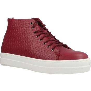 Schuhe Damen Sneaker High Gas ROMA ETNICO Rot