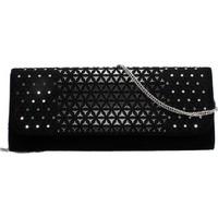 Taschen Damen Abendtasche und Clutch Argenta B7097 Schwarz
