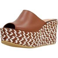 Schuhe Damen Pantoffel Gioseppo 39928G Brown