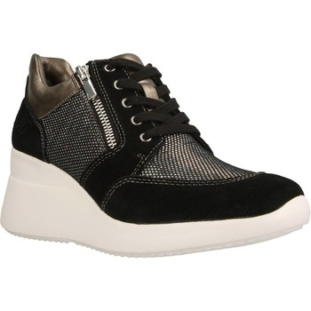 Schuhe Damen Sneaker High Lumberjack SW24505 Schwarz